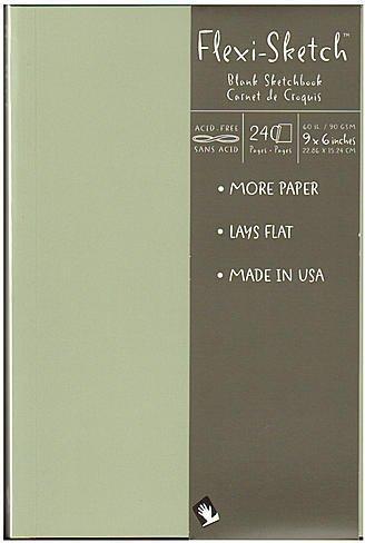 Flexi Mist - Global Art Flexi-Sketch Sketchbooks (Mist) 1 pcs sku# 1847132MA