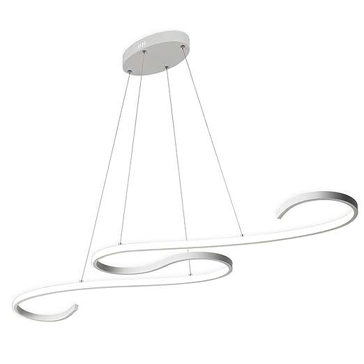 ZZ Joakoah Lámpara colgante LED, Iluminación colgante 46W ...