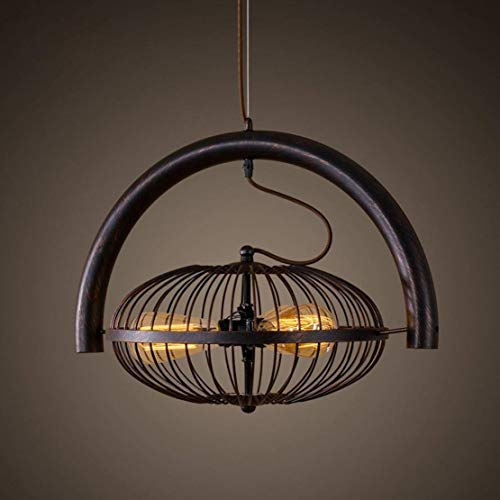 LUCY STORE Enjoyment Creative Fan Chandelier Attic Retro Industrial Design Trailer Iron Shade Black Ceiling Lamp Restaurant Table Corridor Cafe Pendant Lamp Luxury