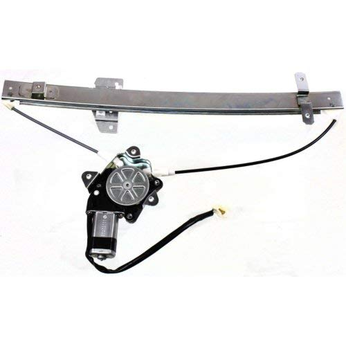 Front Window Regulator Compatible with SUZUKI SIDEKICK 1989-1998 LH Power with Motor 4-Door ()