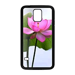DIY Cover Case with Hard Shell Protection for SamSung Galaxy S5 I9600 case with Beautiful flowers lxa#876452