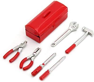 Prima05Sally 6Pcs Mini Kit de Caja de Herramientas de decoración RC Kit de Accesorios de Caja Parte para 1/10 RC Car Crawler Axial SCX10 RC4WD D90 D110 TF2: Amazon.es: Hogar