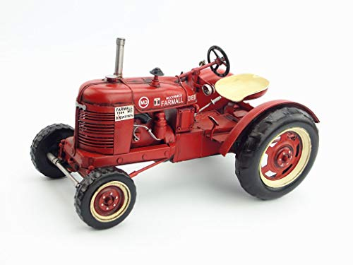 (Vintage Iron Tractor Model Display Window Props Creative Crafts)
