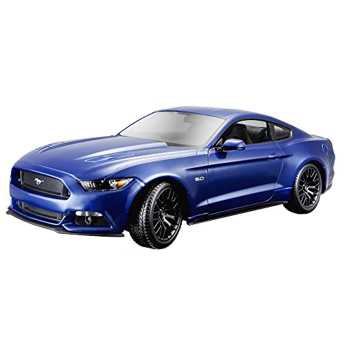 Maisto 1:18 Scale 2015 Ford Mustang Diecast Vehicle (Colors May (Ford Mustang Diecast 1 18)