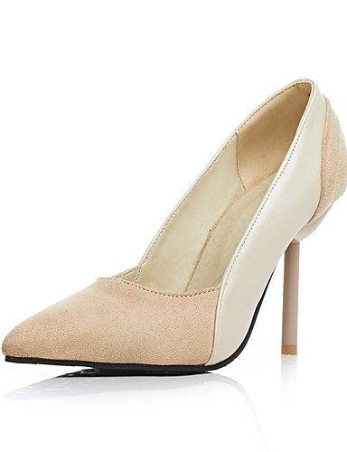 ZQ los zapatos de tac¨®n de lana de verano / oto?o / oficina en punta del dedo del pie talones de las mujeres&?carrera / estilete tal¨®n , black-us10.5 / eu42 / uk8.5 / cn43 , black-us10.5 / eu42 / uk beige-us6 / eu36 / uk4 / cn36