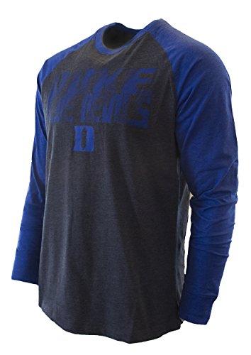 Dual Blend Long Sleeve Hoody Pullover T-Shirt Colosseum Mens NCAA-Fall Semester