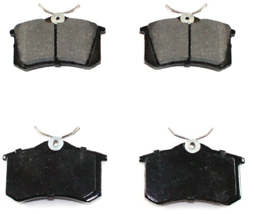 DuraGo BP340 MS Rear Semi-Metallic Brake Pad ()