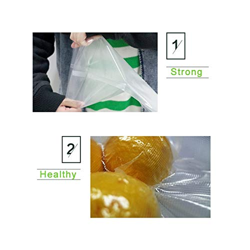 Amazon.com: 1 rollo de bolsas de vacío de 6.7 x 196.9 in ...