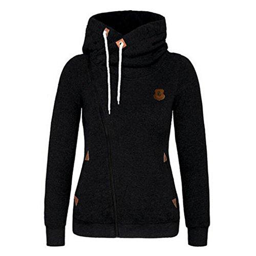 FUNOC Women's Full Slide Zip Up Fleece Hoodie, Fashion Sweater/Casual Sweatshirt Jacket supplier