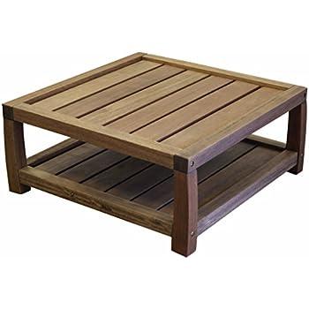 Amazoncom Keter Corfu Coffee Table Modern All Weather Outdoor