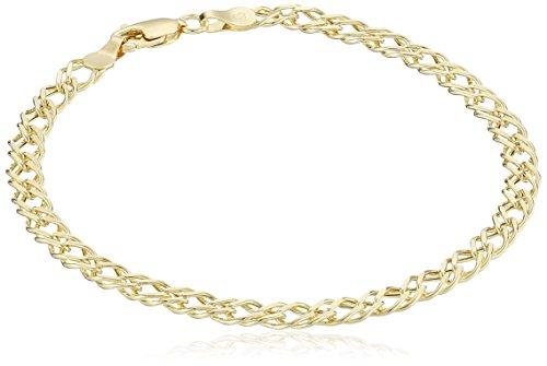 Gold Bracelet 14K: Amazon.com