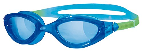 Zoggs Juniors Panorama Fog buster Swimming Goggles - Blue, 6-14 Years