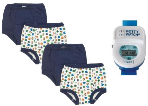 Gerber Training Pants Potty Watch