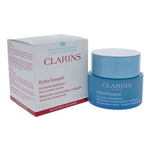 Clarins Hydra-Essentiel Moisturizes and Quenches Cooling Gel, 1.7 Ounce ()