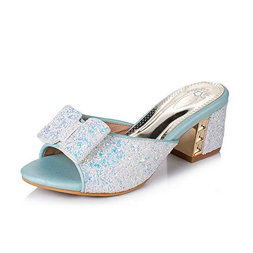 Blu Donna Aimint Blue 35 Ballerine EYR00449 nYzYx8Tt