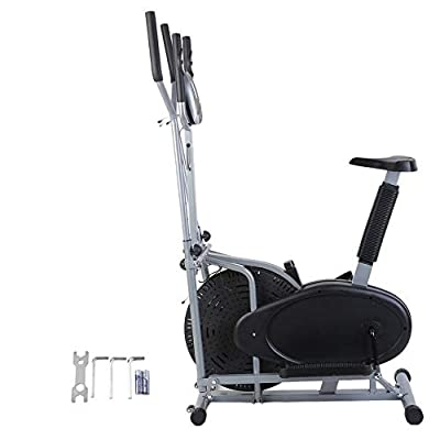 Orihat Elliptical Bike 2 in 1 Cross Trainer for Home Gym Equipment
