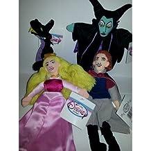 Sleeping Beauty Set of 4 - Aurora, Phillip, Dragon, Maleficent by Disney