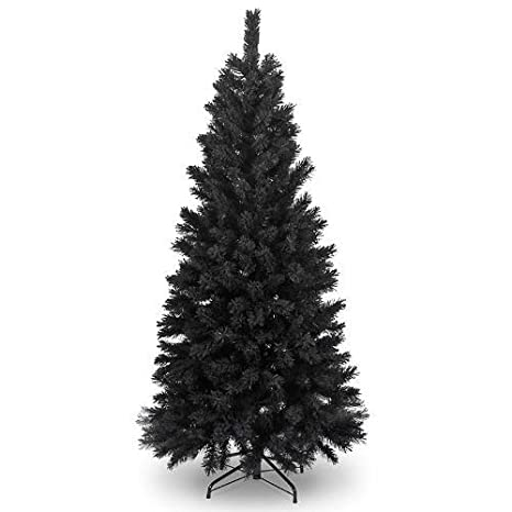 differently 037fc eef7e 6Ft Black Artificial Christmas Tree by shatchi super sale store