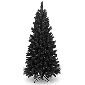6Ft Black Artificial Christmas Tree by shatchi super sale store ...