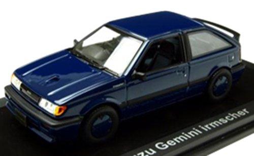 ノレブ 1/43 Isuzu ジェミニ Irmscher 1500 Turbo 1987 BLUE 完成品 B0083TMAV2