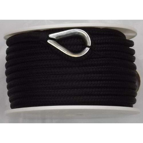 Anchor Nylon Braided - US Ropes Nylon Double Braided Anchor Line 1/2