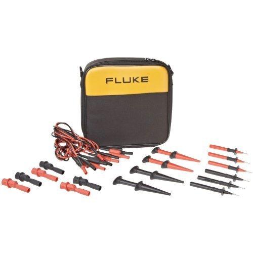 Fluke 700TLK Process Test Lead Kit, For 753/754 Multi-Function Process Calibrator by Fluke Corporation