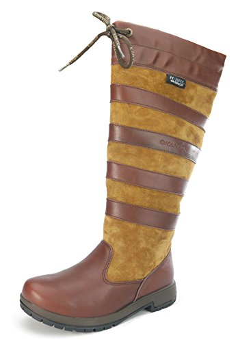 kayon Hêtre imperméable Country boot-standard-uk 4/EUR 37-brown