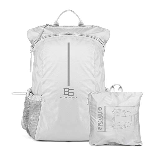 BEYOND SILENCE Ultralight Packable Backpack Daypack Water Resistant Handy Bags for Hiking Camping Travel Outdoor