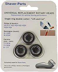Alternativo testine di rasatura, nuova: HQ3, HQ4, HQ5, HQ55 & HQ56 LIFT & CUT, adatto (si adatta) per Philips / Philishave / Norelco rasoi