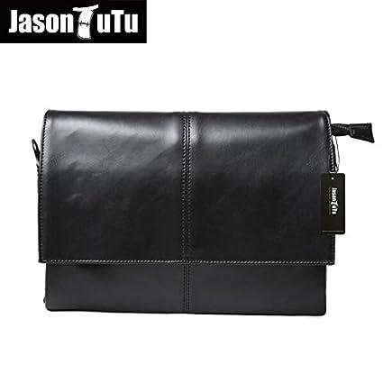 6123c0c729c3 Buy Genric black   Designer handbags Men s 14 inch laptop bag pu leather  messenger bags men travel school bags leisure bags free shipping B36 Online  at Low ...