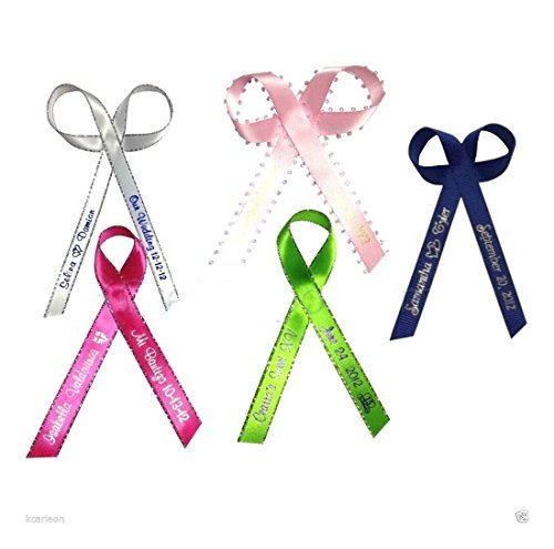 (100 Personalized Ribbon 1/4