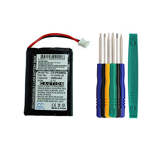 Cameron sino 1600mAh Li-ion Battery 14-0006-00 Replacement For Palm Handspring Visor Prism Handheld PDA With Tools ()