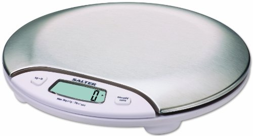 Salter Stainless Steel Electronic Scale