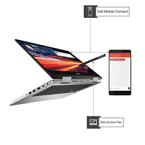"""Dell Inspiron 5491 2in1 14"""" FHD Display Laptop (10th Gen i3-10110U/4GB/256GB SSD/Win 10 + MSO/Integrated Graphics/Platinum Silver/Active Pen) C562523WIN9"""