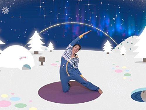 Joybob the Polar Bear (Yoga Cosmic Christmas)