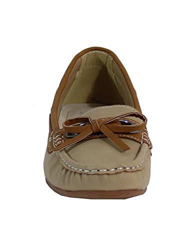 By Shoes - Mocasines para Mujer Beige