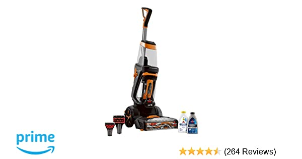 Bissell Proheat 2x Revolution Pet Full Size Upright Carpet Cleaner 1548f Orange