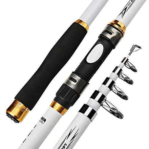 Frp Walker - qentom 2.1M 3.6M Carp Fishing Rod Feeder Hard FRP Carbon Fiber Telescopic Fishing Rod Fishing Pole,3.0 m