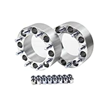 """Primecooling 2.5"""" 8 LUGS WHEEL SPACERS FOR FORD F-250 F-350 POWER STROKE 8x170 14x2 (Pack of 2)"""