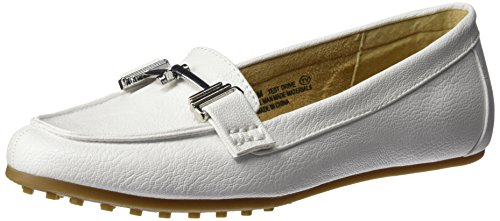 Aerosoler A2 Kvinna Provkörning Slip-on Loafer White