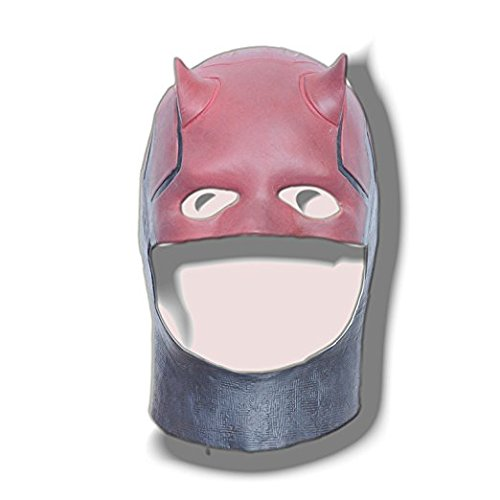 [Daredevil Masks Movie Halloween Cosplay Costume Prop Fancy Dress Latex Mask] (Daredevil Black Costumes)