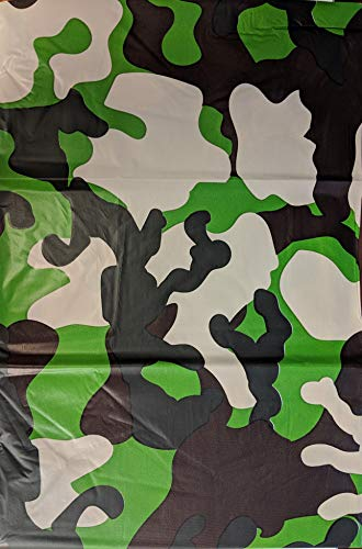 5 Pack Camo Camouflage Tablecloth Cover Party Favor/Checkered Tablecloth/Disposable Table Cover]()