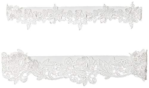YuRongsxt Flower Leaf Style Garter Set Wedding Garter Set Bridal Garter G08