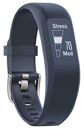 Garmin vivosmart 3 Fitness-Tracker - verstecktes gestik- & tapaktiviertes OLED-Touchdisplay, Herzfrequenzmessung am Handgelen