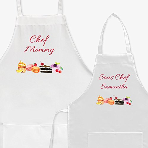Sous Chef Apron - Personalized Direct Personalized Chef and Sous Chef Apron