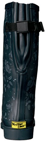 Western Chief Women Wide Calf Rain Boot,Feminine Floral, 9 W US