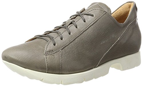 Think Renna, Scarpe Stringate Derby Donna Beige (Kred 22)