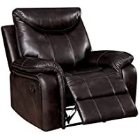 HOMES: Inside + Out IDF-6988-CH Esme Glider Recliner Transitional