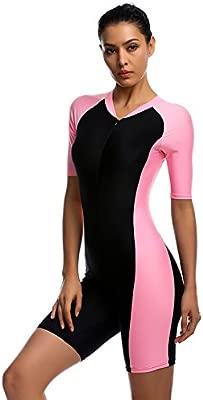 Mujer Protección UV Traje Bañador Ropa de baño agua deportes traje ...