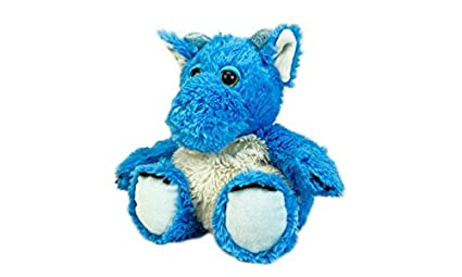 Warmies Cozy Plush Heatable Lavender Scented Stuffed Animal Blue Dragon